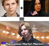 Michael Cera plus Severus Snape…