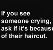 Brutally honest…