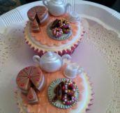 Cake on a cupcake…