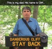 Dangerous Cliff…