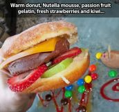 Nutella Burger…