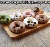 Doughnuts in Tokyo…