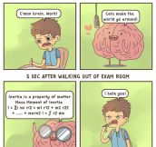 Unhelpful brain…