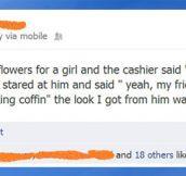 Cashier jokes…