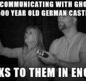 German ghosts…