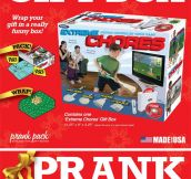 Prank gift box…