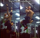 Motivation at the gym…