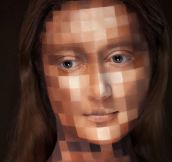 Pixelated makeup…