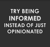 Dear people on the Internet…