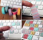 How to make your keyboard fabulous…