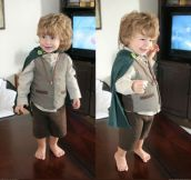 Little hobbit…