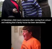 Kids react to different events…