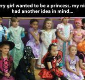 Princess Darth Vader…