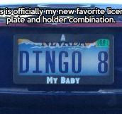 New favorite license plate…