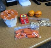 How my wife packed my lunch…