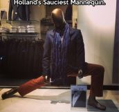 Holland's Mannequin…