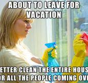 Moms have the weirdest logic…