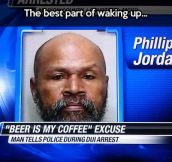 Such a great excuse…