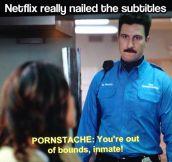 Netflix really nailed it…