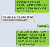 Why posting your phone number in a public place is a bad idea…