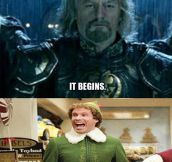 Two kinds of Christmas people…