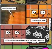 The life of a pixel…