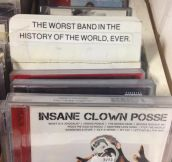 According to my local record store…