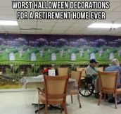 Bad Halloween decorations…