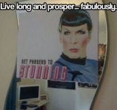 Set phasers to stunning…