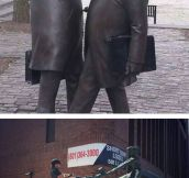 Fun with statues…