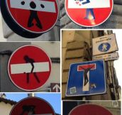 Creative street signs…
