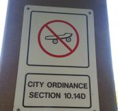 New city ordinance…