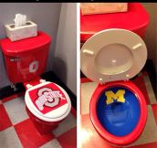 College football rivalry…