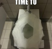 Everytime I use public restrooms…