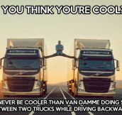 Van Damme raises the bar…