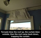 The power of a tornado…