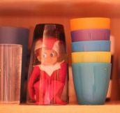 21 Super Clever Elf on a Shelf Ideas