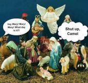CHRISTMAS IS ON WEDNESDAY