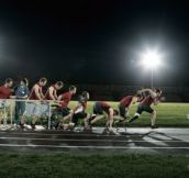 Canadian 2012 Paralympics poster ad