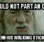 Gandalf Trolling