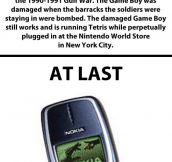 Nokia vs. Nintendo Game Boy