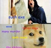 Overexcited doge