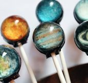 PLANETARY LOLLIPOPS.
