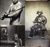 Real life samurais