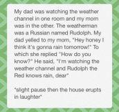 Rudolph dad joke