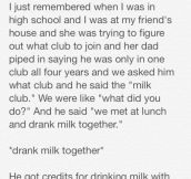 The Milk Club
