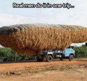The way real men do it
