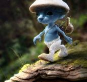 What smurfs would look like in real life
