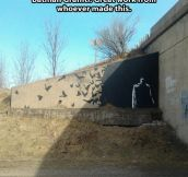Awesome Batman Graffiti…