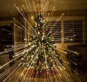 The magic of Christmas captured in a picture…